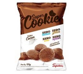 Cookie Superbom Cacau Zero Açucar 120g