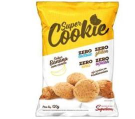 Cookie Superbom Banana com Canela Zero Açucar 120g