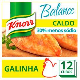 Caldo Knorr Balance Galinha 12 cubos