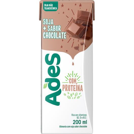 Bebida de Soja Ades Chocolate 200ml - Imagem em destaque
