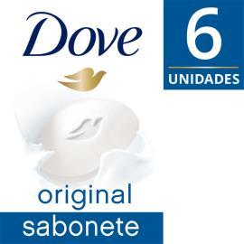 Sabonete Dove Original Embalagem com 6 unidades 90g