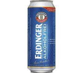 Cerveja Erdinger sem Alcool lata 500ml