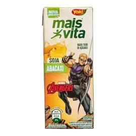 Alimento Soja Yoki Mais Vita Abacaxi Avengers 200g
