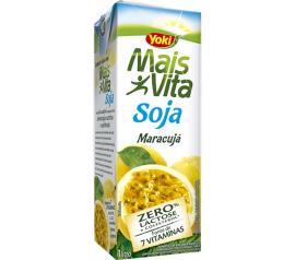 Bebida de Soja Yoki Mais Vita Maracujá 200ml