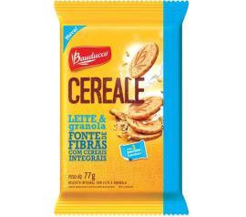 Biscoito Bauducco Cereale Leite e Granola Integral 77g