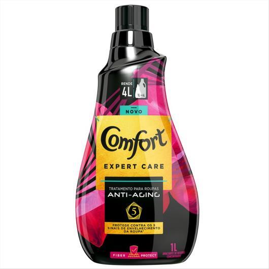 Amaciante Concentrado Comfort Expert Care Fiber Protect 1L - Imagem em destaque