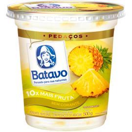 Iogurte Batavo Pedaço Abacaxi Integral 500g