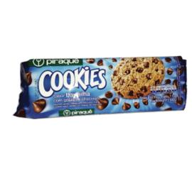Cookie Piraquê Cookies Chocolate com Gotas de Chocolate 110g