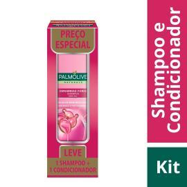 Shampoo + Condicionador Palmolive Naturals Ceramidas Force Preço Especial 350ml cada
