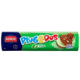 Biscoito Adria Plugados Recheado Limão 140g