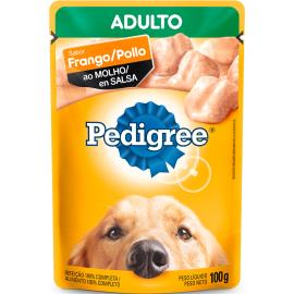 Alimento Cães Pedigree Frango ao Molho Sachê 100g