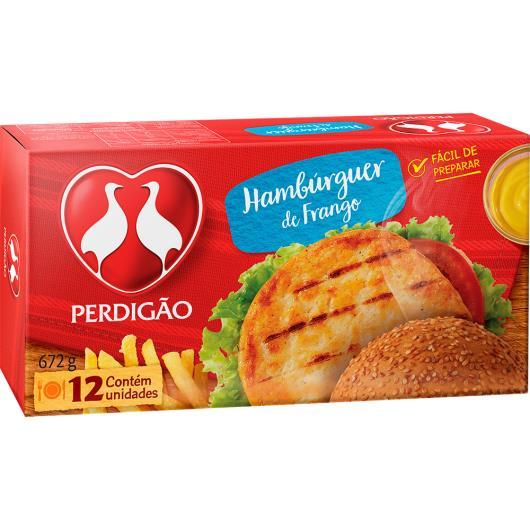 Hambúrguer de Frango Perdigão 672g - Imagem em destaque