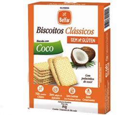Biscoito Clássicos Belfar Coco 3unidades 84g