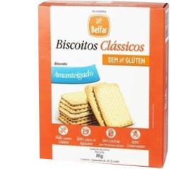 Biscoitos Clássicos Belfar Amanteigado 3unidades 86g