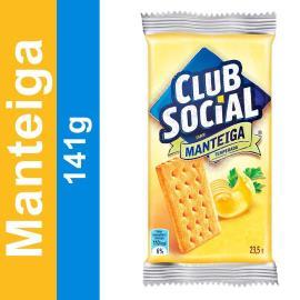 Biscoito CLUB SOCIAL Manteiga Temperada (6 Unidades) 141g