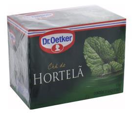 Chá Oetker hortelã 15g