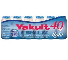 Leite Yakult 40 Fermentado Light 6x80g 480g