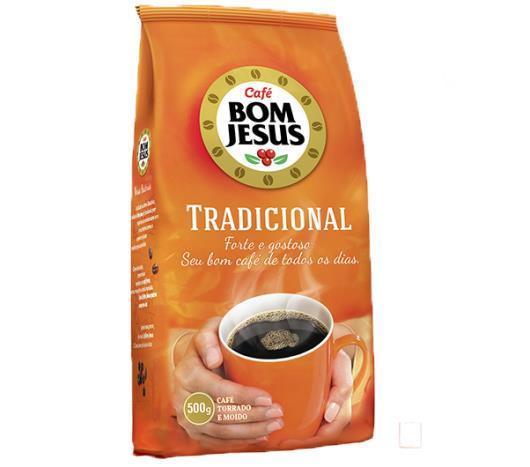 Café Bom Jesus Tradicional Almofada 500g - Imagem em destaque