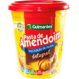 Pasta de Amendoim Guimarães Integral pote 500g