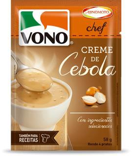 Creme Vono Chef Cebola 58g