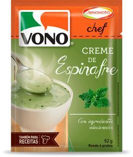Creme Vono Chef Espinafre 52g