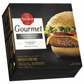 Hambúrguer Gourmet Seara tradicional Seara 360 g