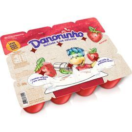 Queijo Petit Suisse Danoninho Morango 480g