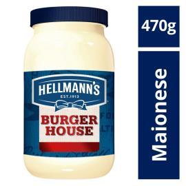 Maionese Hellmanns Burger House Original 470 GR