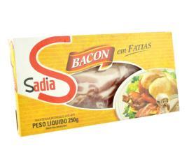 Bacon em fatias Sadia 250g