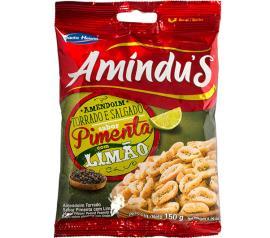 Amendoim Amindu's Pimenta com Limão 150g
