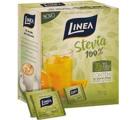 Adoçante Linea Stevia Pó 50 unidades de 6g 30g