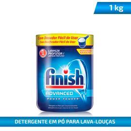 Detergente Finish Pó para Máquina de Louças Advanced 1kg