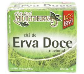 Chá Real multiervas erva doce15g