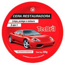 Cera Tecbril Restauradora lata 200g