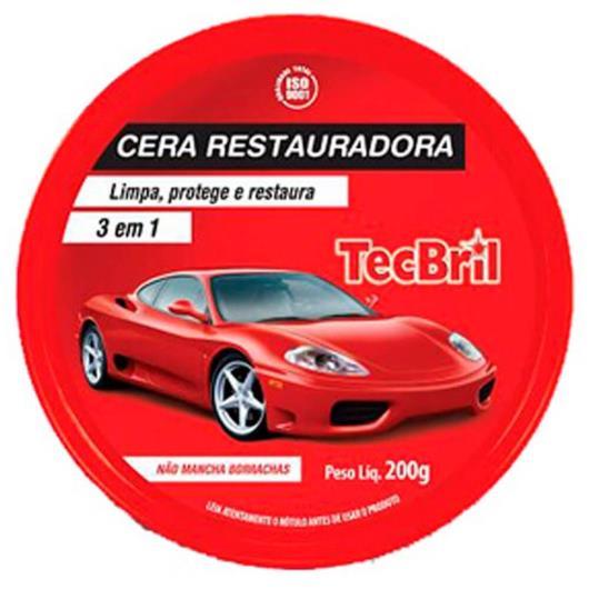 Cera Tecbril Restauradora lata 200g - Imagem em destaque