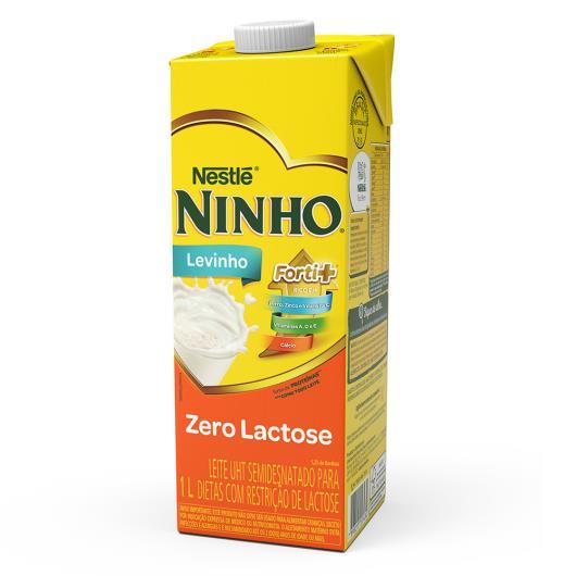 Leite NINHO Zero Lactose Levinho Semidesnatado 1L - Imagem em destaque