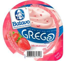 Iogurte Batavo Grego Morango 100g