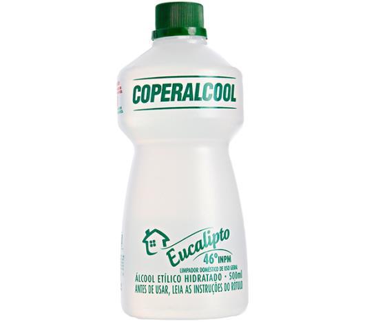 Álcool Coperalcool Eucalipto 500ml - Imagem em destaque
