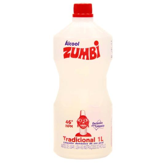 Álcool Zumbi Tradicional 1L - Imagem em destaque