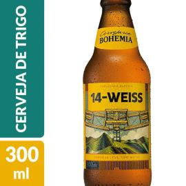 Cerveja Bohemia 14-Weiss Long Neck 300ml