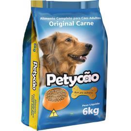 Ração para Cães Petycão sabor Carne para  Adultos 6kg