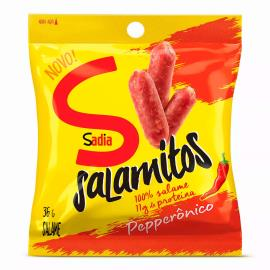 Salame Sadia Salamitos Pepperônico 36g