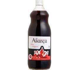 Suco Aliança Uva Tinto Integral 1L