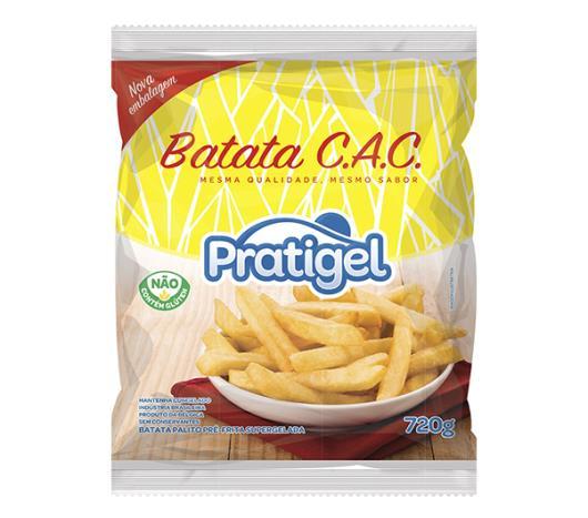 Batata Congelada CAC Pratigel Pré-Frita 720g - Imagem em destaque