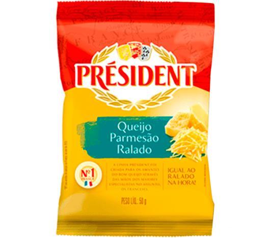 Queijo Parmesão Ralado President 50g - Imagem em destaque