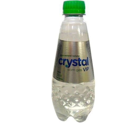 Água Mineral Crystal Pet com Gás 350ml - Imagem em destaque