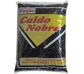 Feijão preto Caldo Nobre 1kg