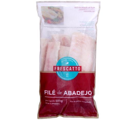 Filé Abadejo Frescatto Congelado 500g - Imagem em destaque