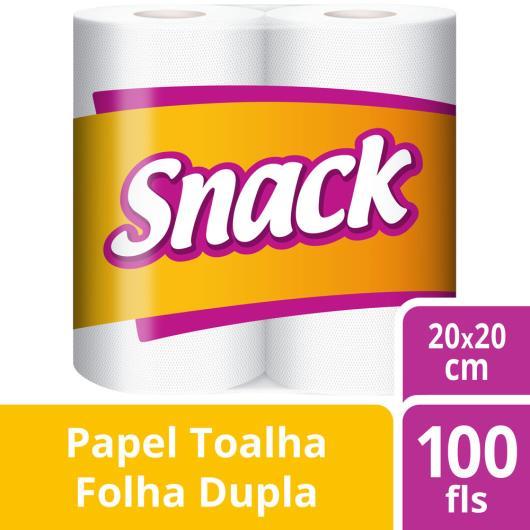 Papel Toalha Snack com 2 rolos 50 Folhas cada - Imagem em destaque