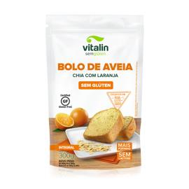 Bolo de Aveia Chia com Laranja Integral Vitalin 300g
